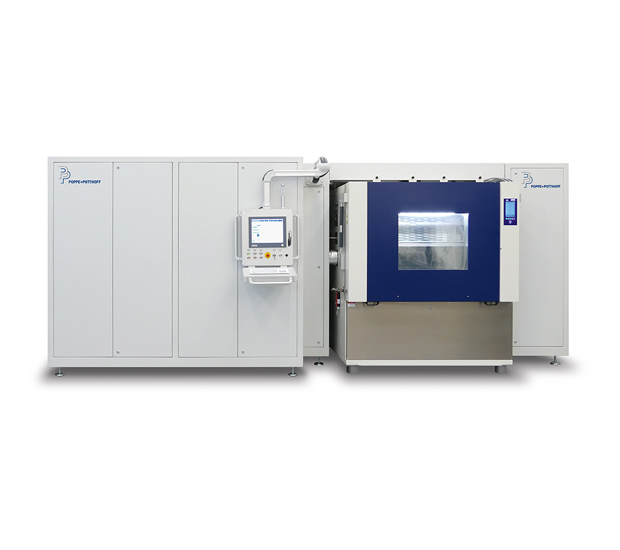 Pressure Pulsation Test Stand with Climate Chamber